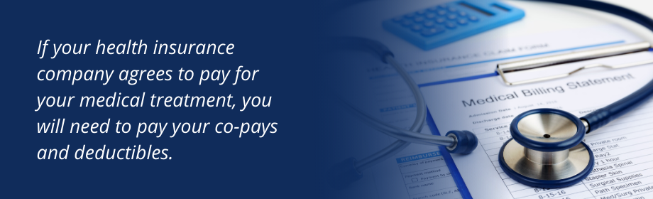 Quote about copays and deductibles during a motorcycle accident