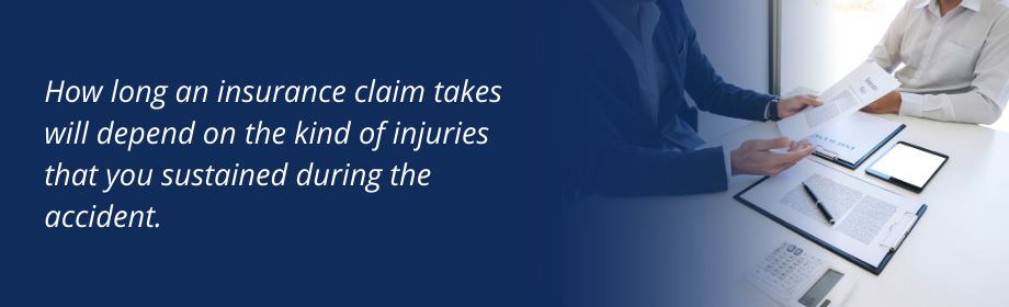 Quote about how long do insurance claims take