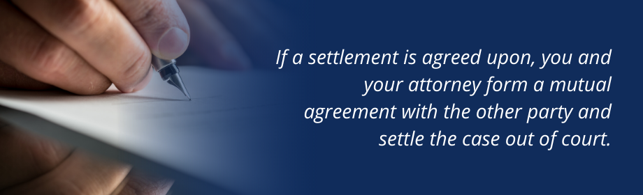 Quote about personal injury lawsuit settlement